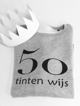 sweater 50 tinten wijs